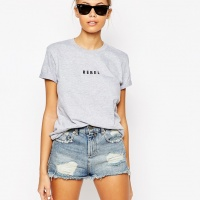 T-shirt boyfriend Rebel