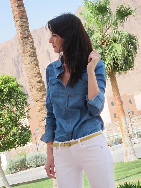 Jean blanc, mode d emploi ! – Estelle Segura – Blog mode ... c51d580dea71