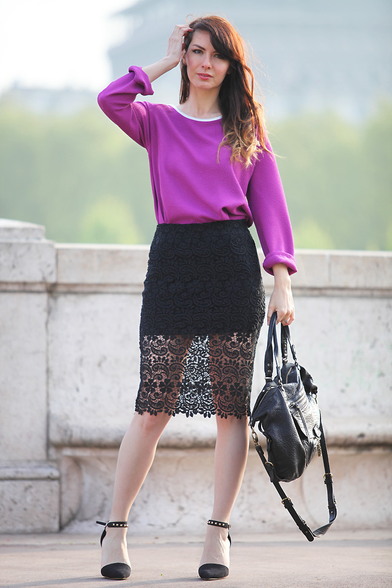 I love paris estelle segura blog mode influenceuse - Boutique la redoute paris ...