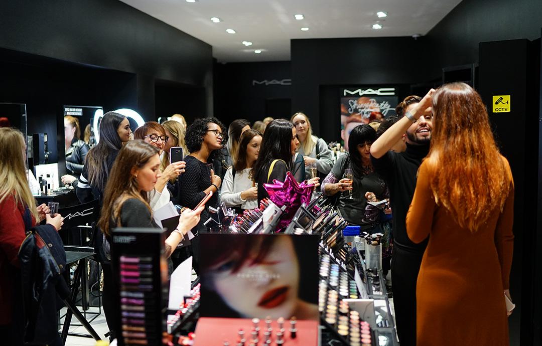 Ma masterclass avec MAC Cosmetics à Mulhouse