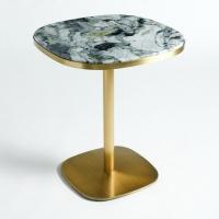 Table de bistrot marbre