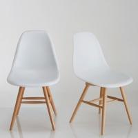 Chaise à coque plastique